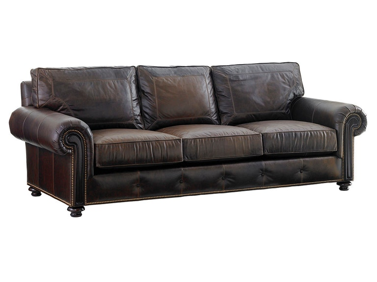 Tommy Bahama Home Riversdale Leather Sofa 7998-33-01