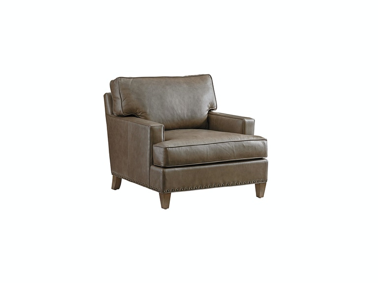 Tommy Bahama Home Hughes Leather Chair 9012-11-01