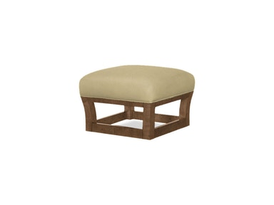 Tommy Bahama Home Fusion Leather Ottoman LL1523-44