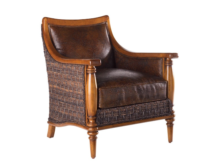 Tommy Bahama Home Agave Leather Chair LL1695-11