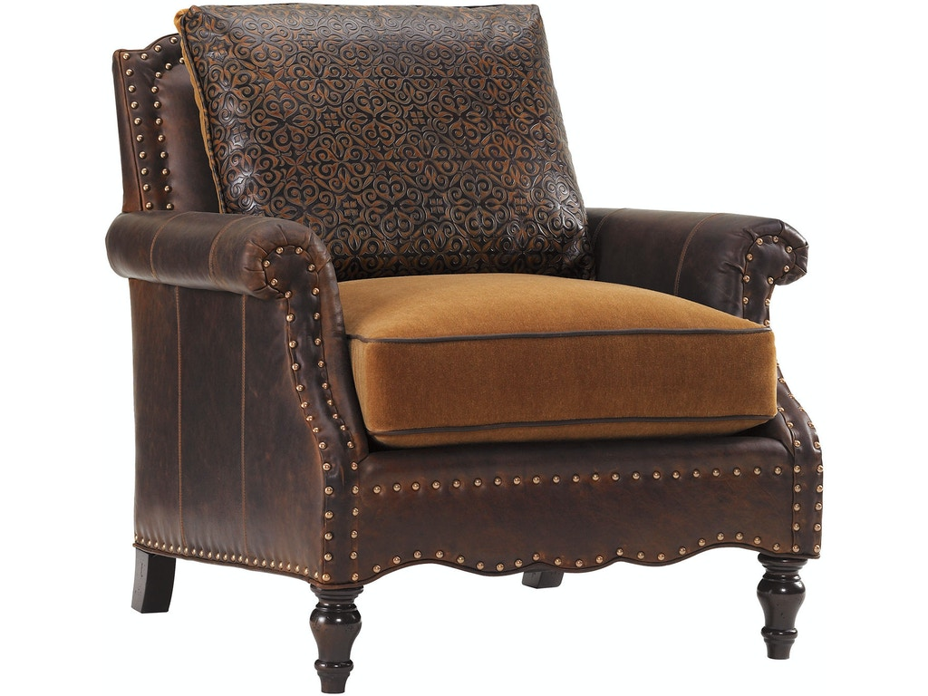 Fabulous Tommy Bahama Home By Lexington Living Room Belgrave Leather Chair Ll7884 11Aa Walter E Smithe Furniture Design Cjindustries Chair Design For Home Cjindustriesco