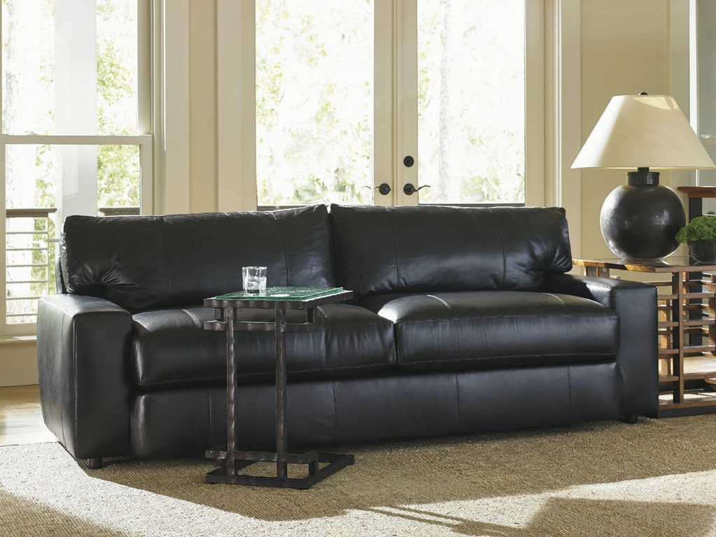 Tommy Bahama Home Living Room Sakura Leather Sofa Ll7930