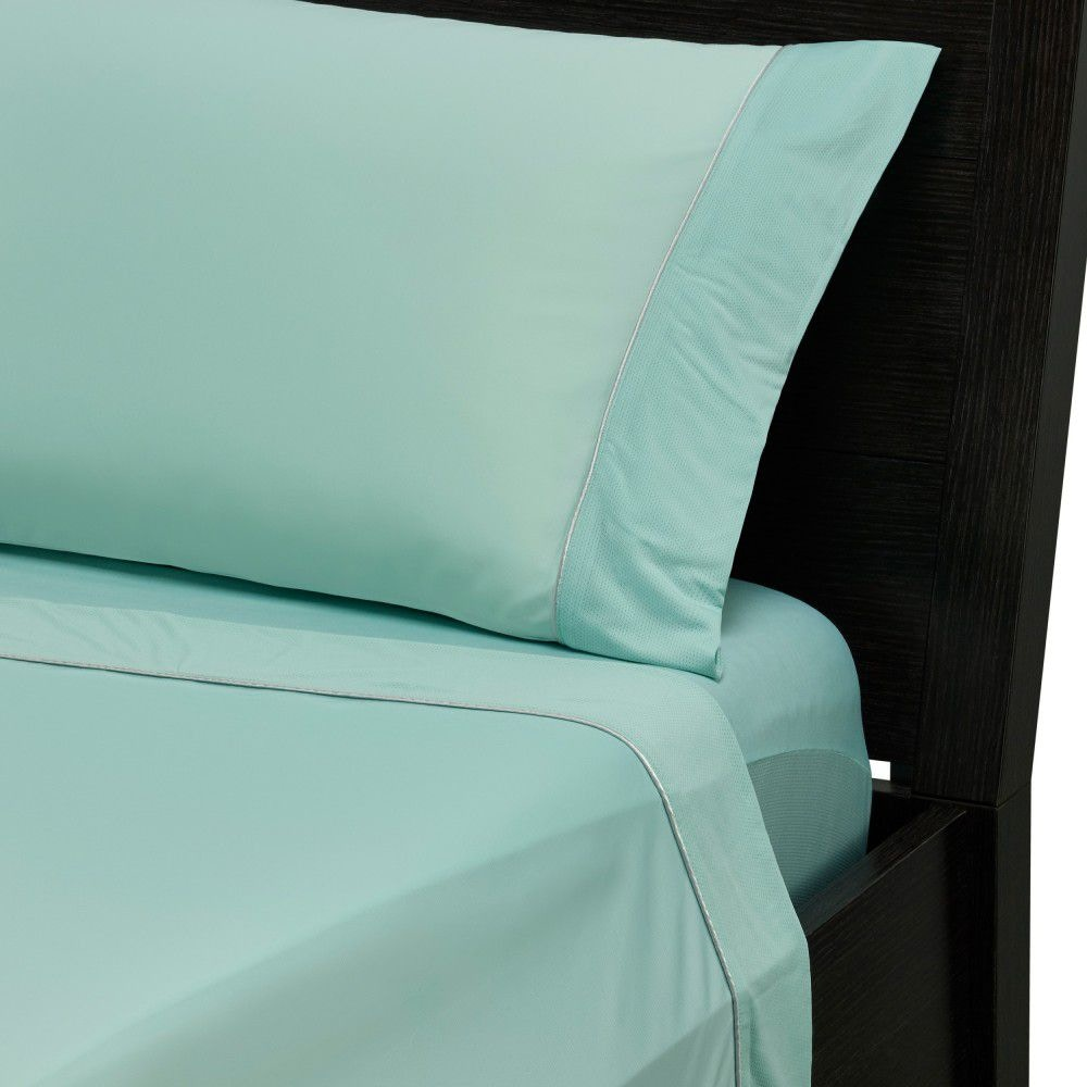 Bedgear Bedroom Dri Tec Lite Performance Sheets Seafoam