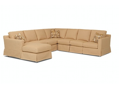 Klaussner Outdoor Aspen Sectional W3385 SECT