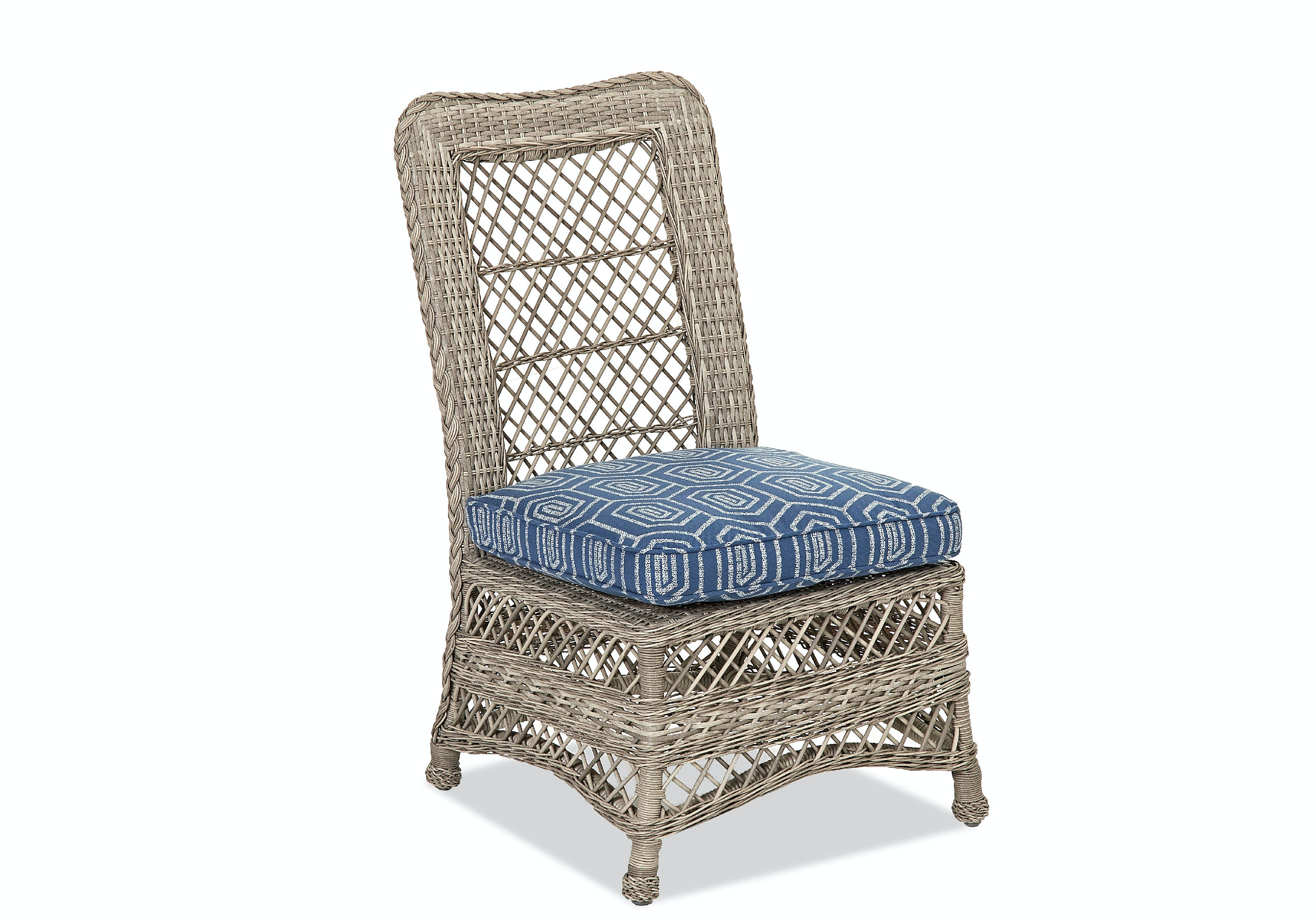 Klaussner Outdoor Outdoor Patio Willow Dining Side Chair