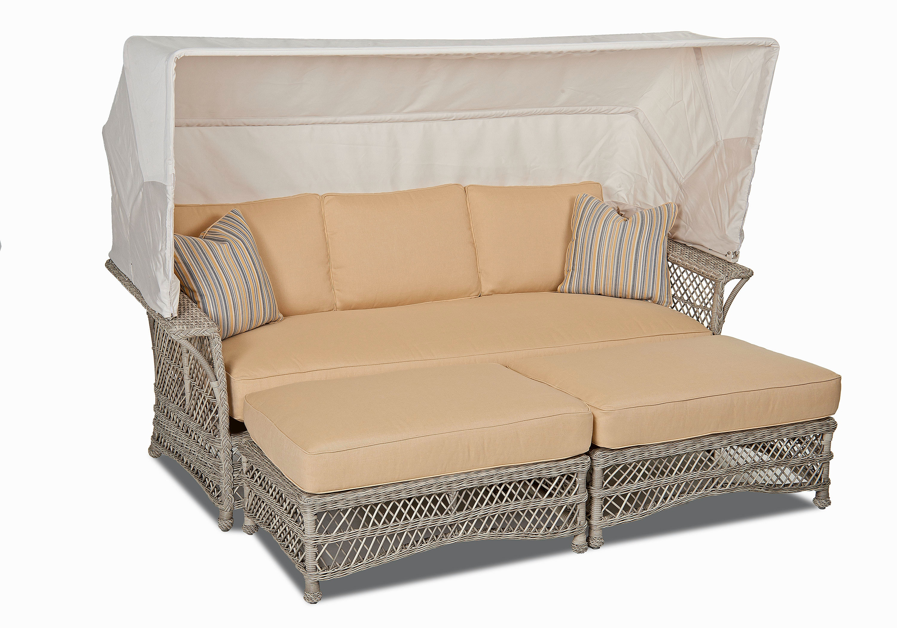 Klaussner Outdoor Outdoor Patio Willow Daybed W1200 DAY