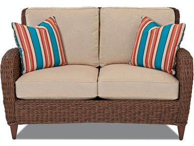 Klaussner Outdoor Palmetto Loveseat W1400 LS