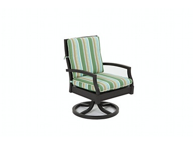Simple Elegance Outdoor Cerissa Swivel Rocking Dining Chair W4200 SRDDR