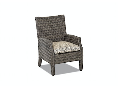 Klaussner Outdoor Outdoor/Patio Cascade Dining Chair