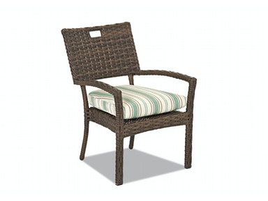 Simple Elegance Outdoor Sycamore Stackable Dining Chair W5100 STDC