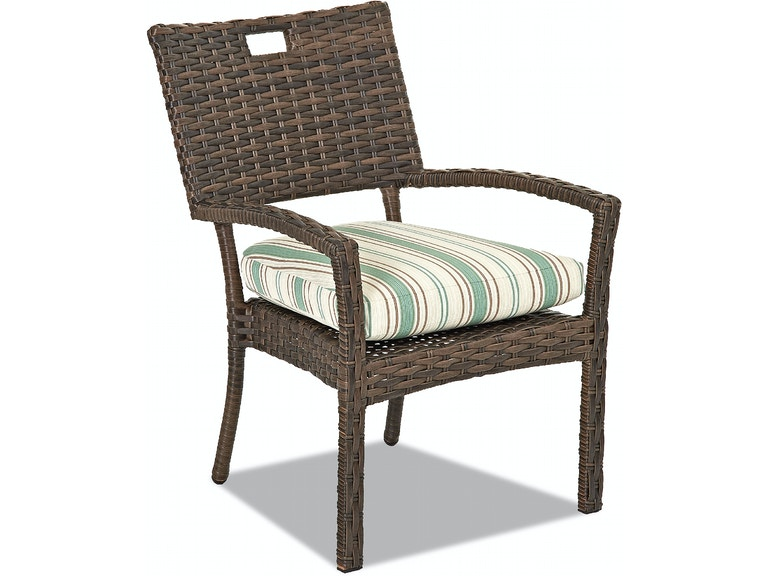 Klaussner Outdoor Sycamore Stackable Dining Chair W5100 Stdc