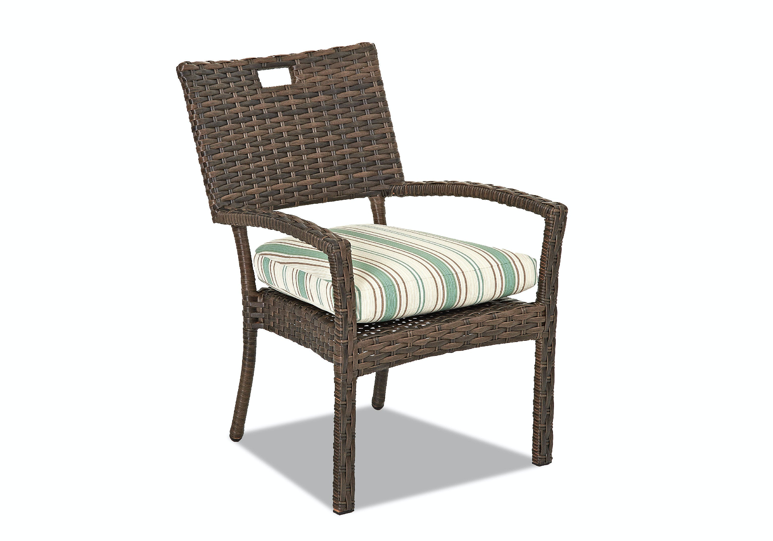Klaussner Outdoor Outdoorpatio Sycamore Stackable Dining Chair Cekw5100stdc Walter E Smithe Furniture Design