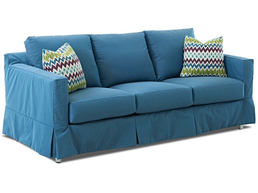 Klaussner Outdoor OutdoorPatio Aspen Extra Large Sofa CEKW3385XS Walter E.  Smithe Furniture + Design