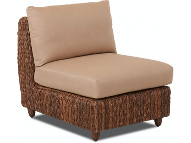 Klaussner Outdoor Lantana Armless Chair W5200 AC