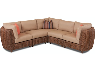 Klaussner Outdoor Lantana Sectional W5200 SECT