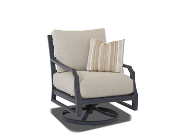 Klaussner Outdoor Mirage Swivel Rocking Chair W2100 SRKC