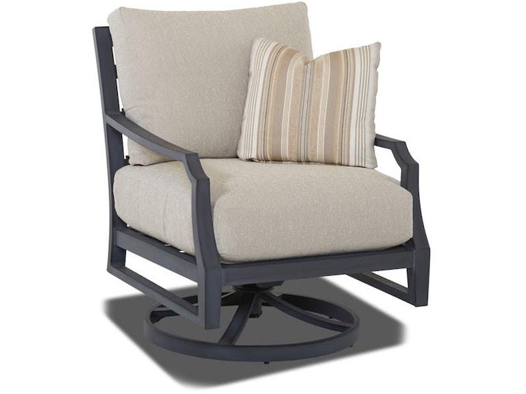 Klaussner Outdoor #W2100 SRKC Mirage Swivel Rocking Chair ...