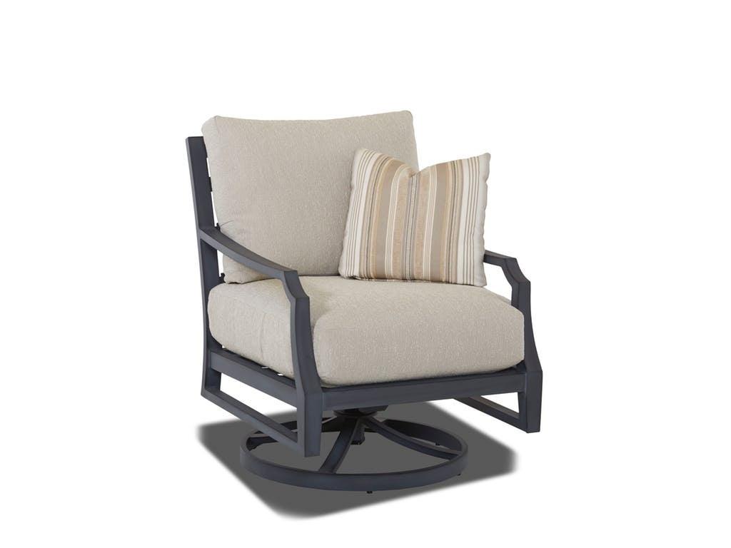 Klaussner Outdoor Mirage Swivel Rocking Chair W2100 SRKC