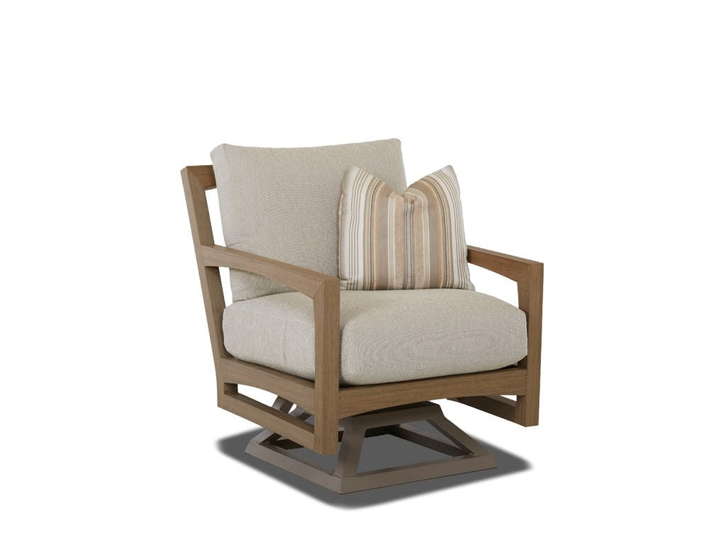 Klaussner Outdoor Delray Swivel Rocking Chair W8502 SRKC
