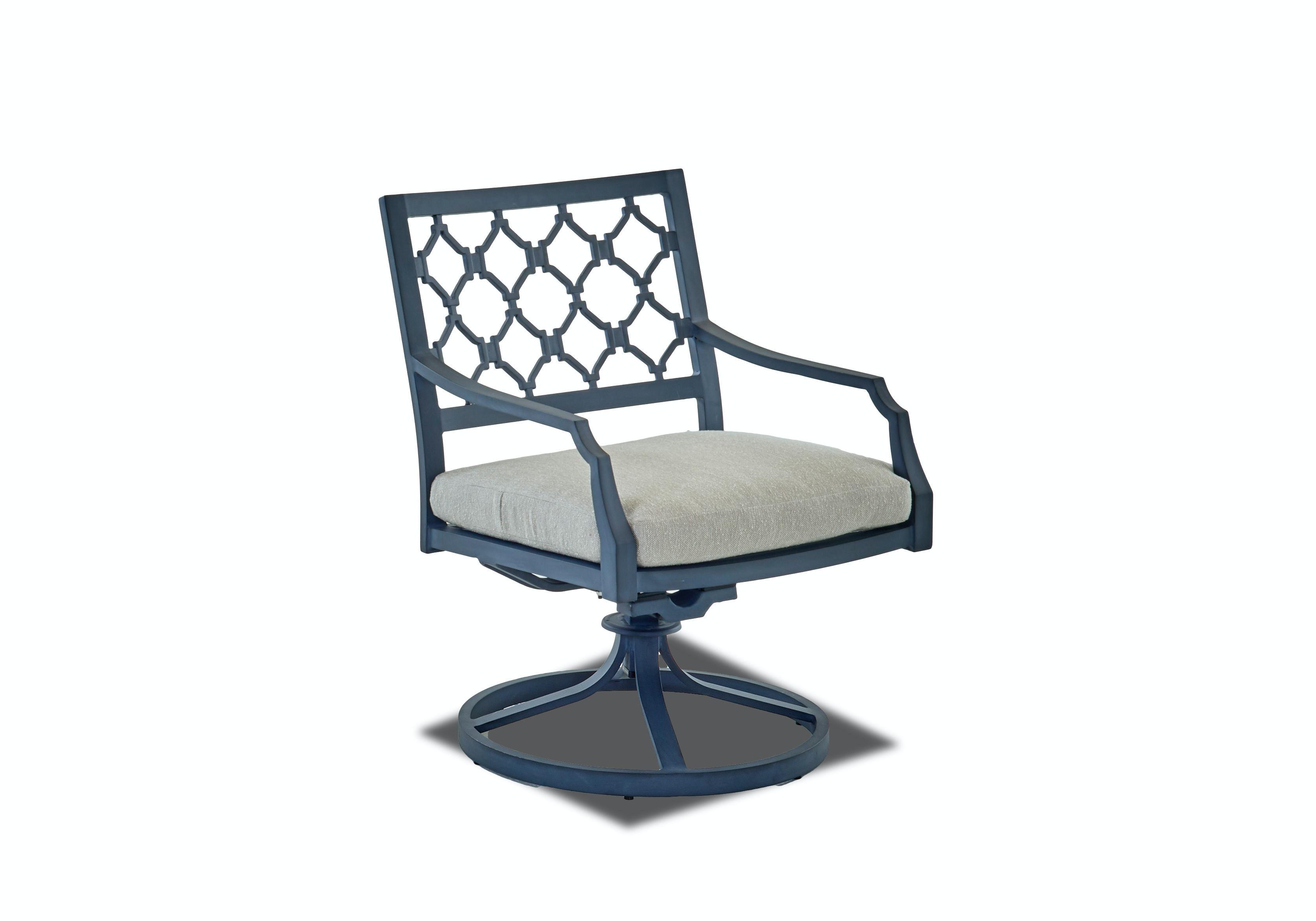 Klaussner Outdoor Mirage Swivel Rocking Dining Chair W2100 SRDC