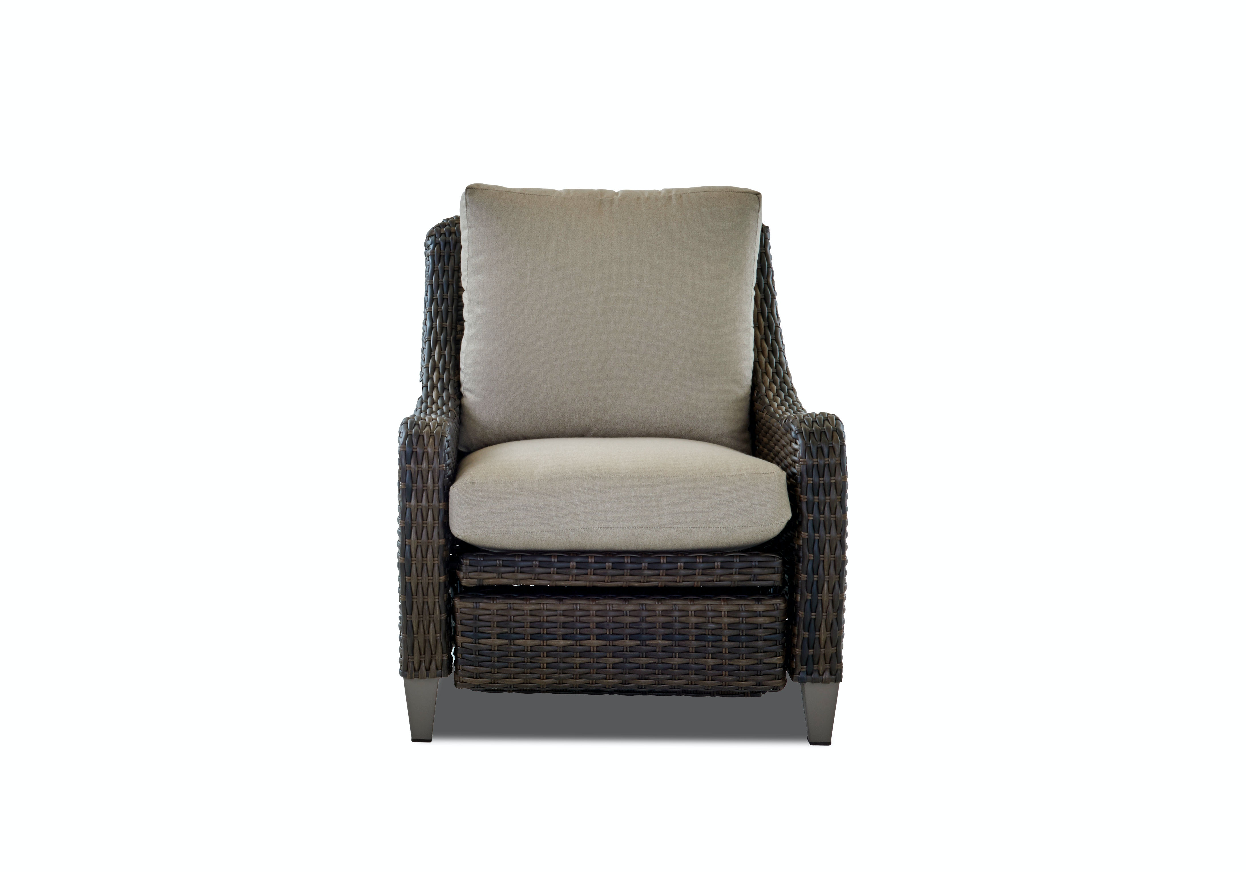 Klaussner Outdoor Mesa Reclining Chair W7502 HLRC
