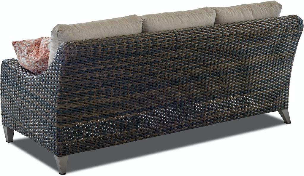 Klaussner Outdoor Outdoor/Patio Mesa Sofa W7502 S