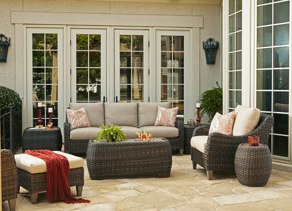 Klaussner Outdoor Outdoor Patio Mesa Sofa W7502 S