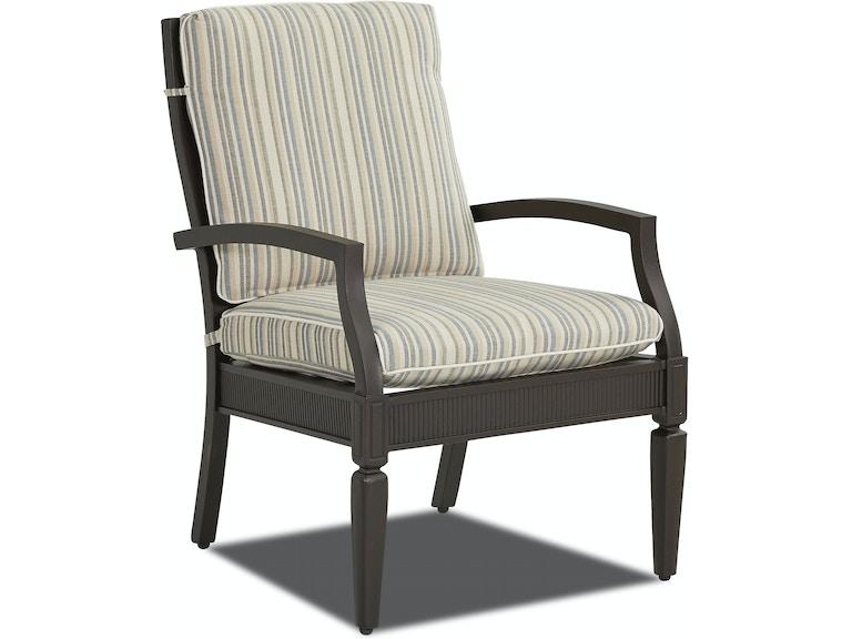 Superb Klaussner Outdoor Outdoor Patio Cerissa Dining Chair W4200 Download Free Architecture Designs Scobabritishbridgeorg