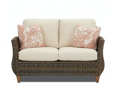 Klaussner Outdoor Sycamore Loveseat W5100 LS