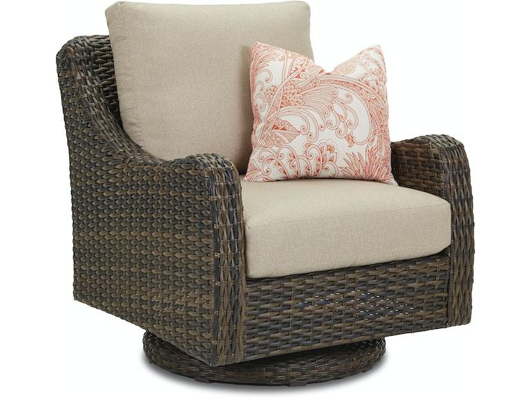 Klaussner Outdoor Mesa Swivel Rocking Chair W7502 Srkc