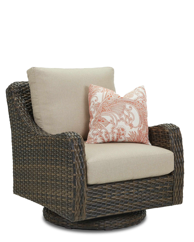 Klaussner Outdoor Mesa Swivel Rocker Chair W7502 SRKC ...
