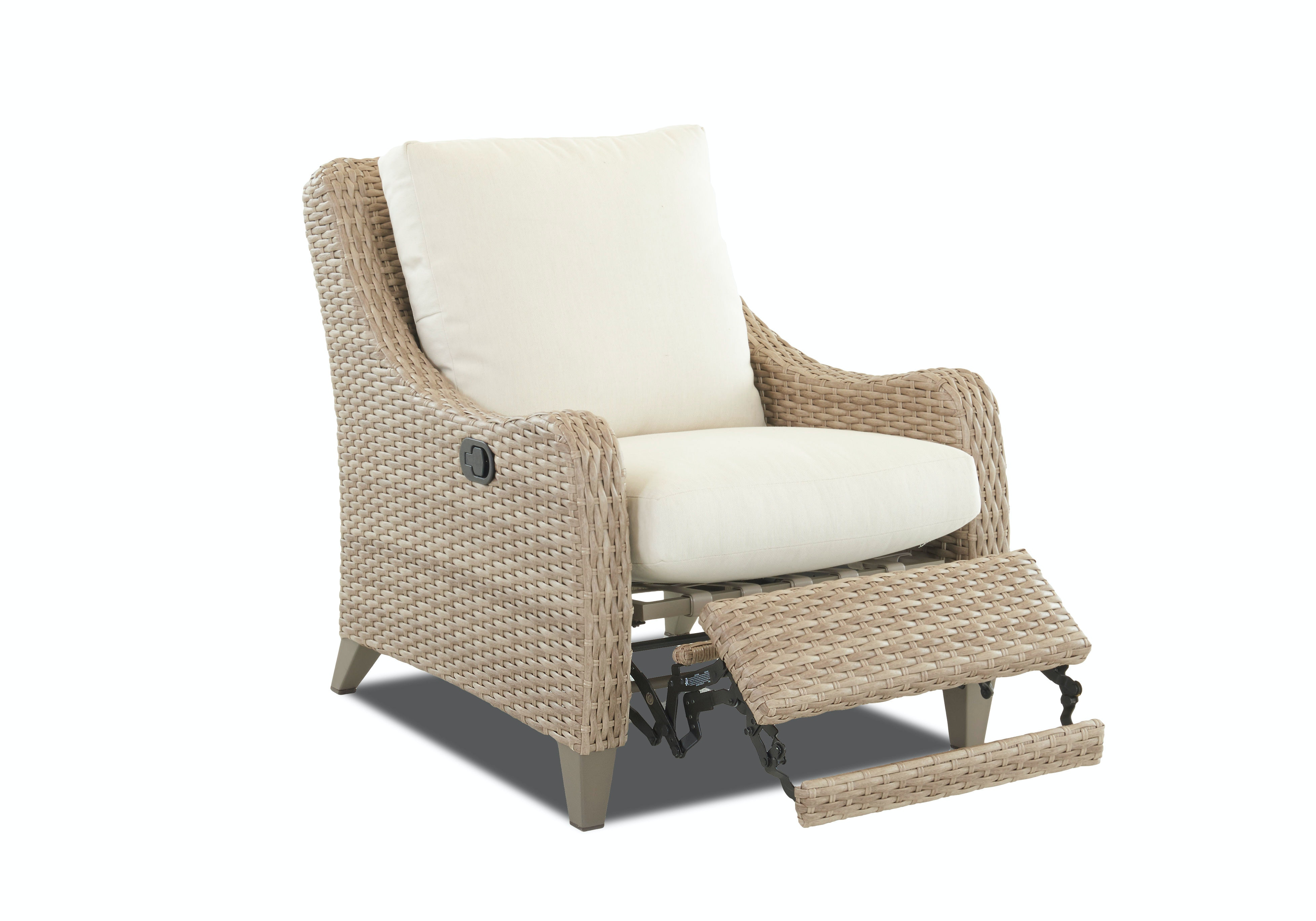 Klaussner Outdoor Mesa Reclining Chair W7501 HLRC