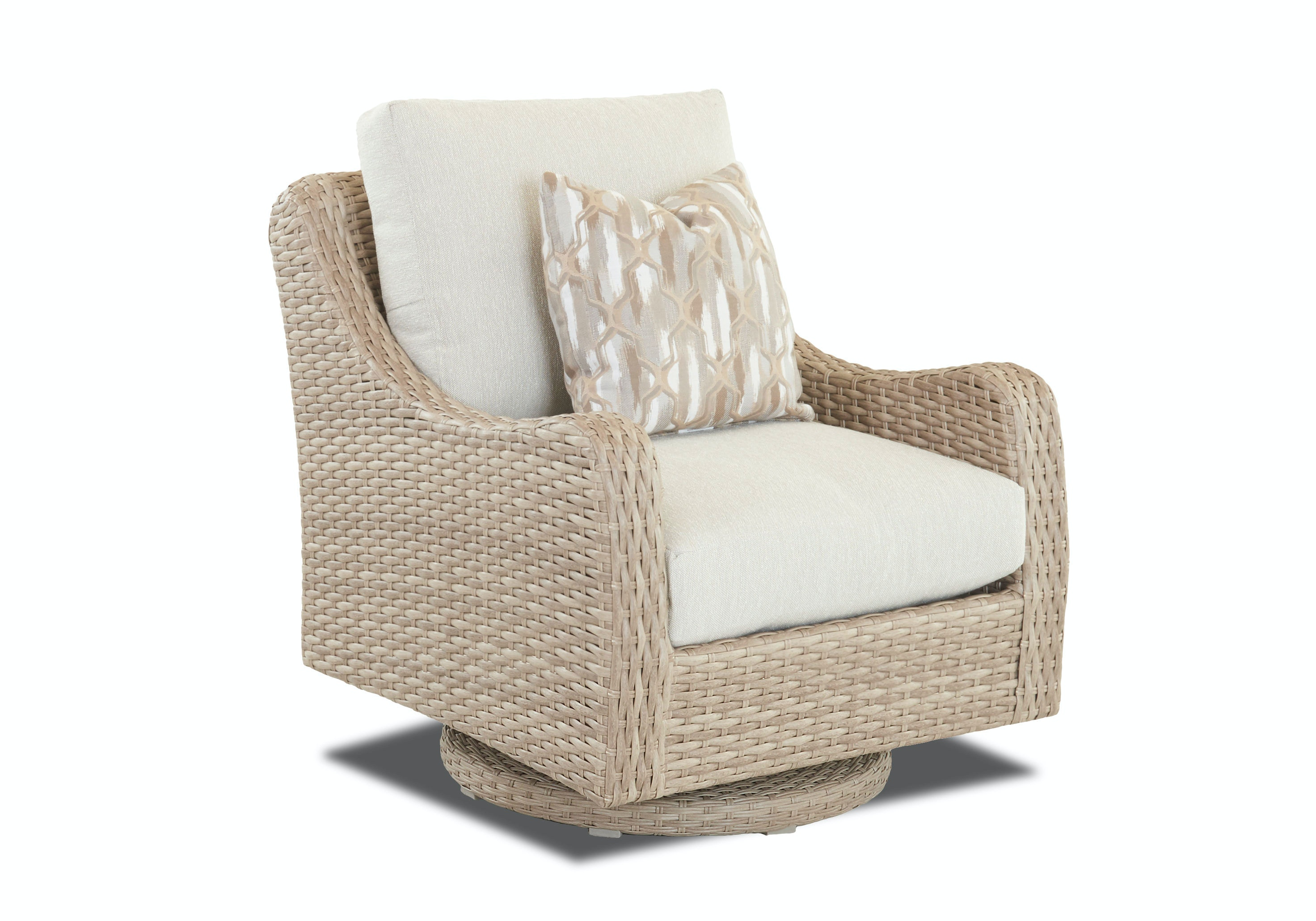 2014 at 768 215 768 in elegant collection of cushioned rocking chairs - Klaussner Outdoor Mesa Swivel Rocker Chair W7501 Srkc