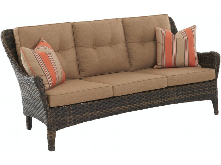 Klaussner Outdoor Outdoor Patio Bayley Sofa W6800 S Zing