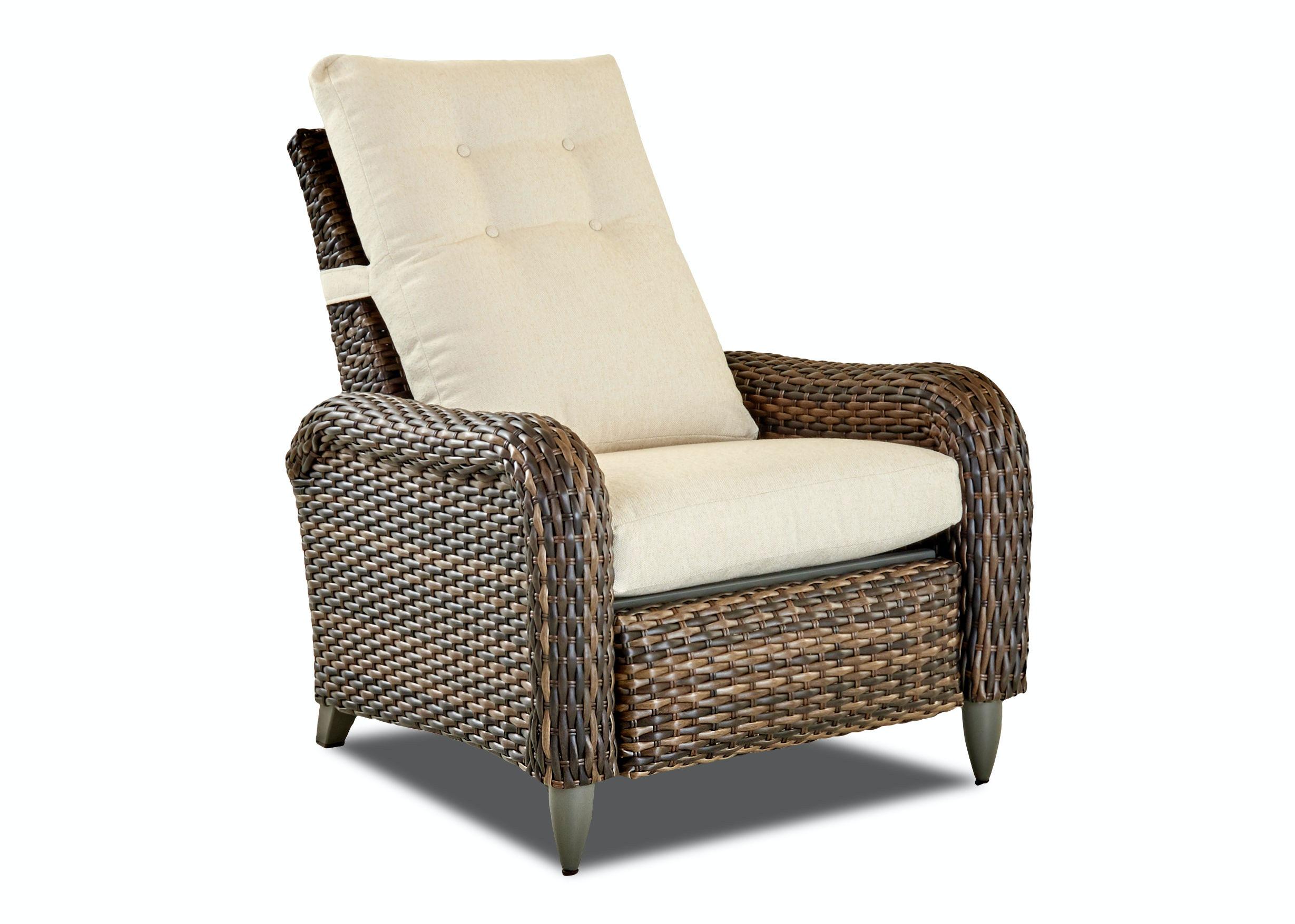 Klaussner Outdoor Duneside High Leg Reclining Chair W5602 HLRC