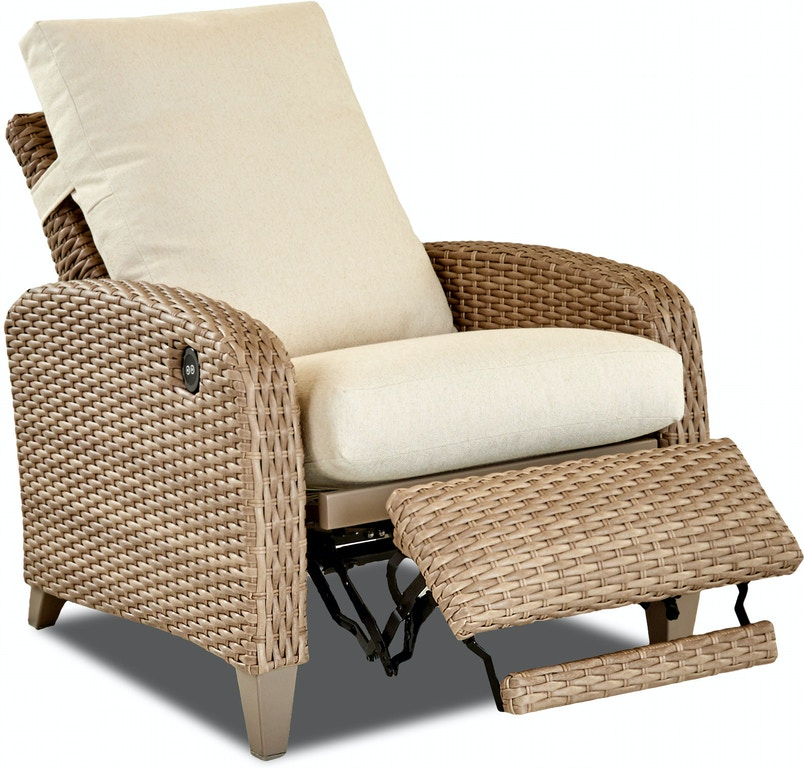 Klaussner Outdoor Outdoor Patio Tidepointe Power High Leg