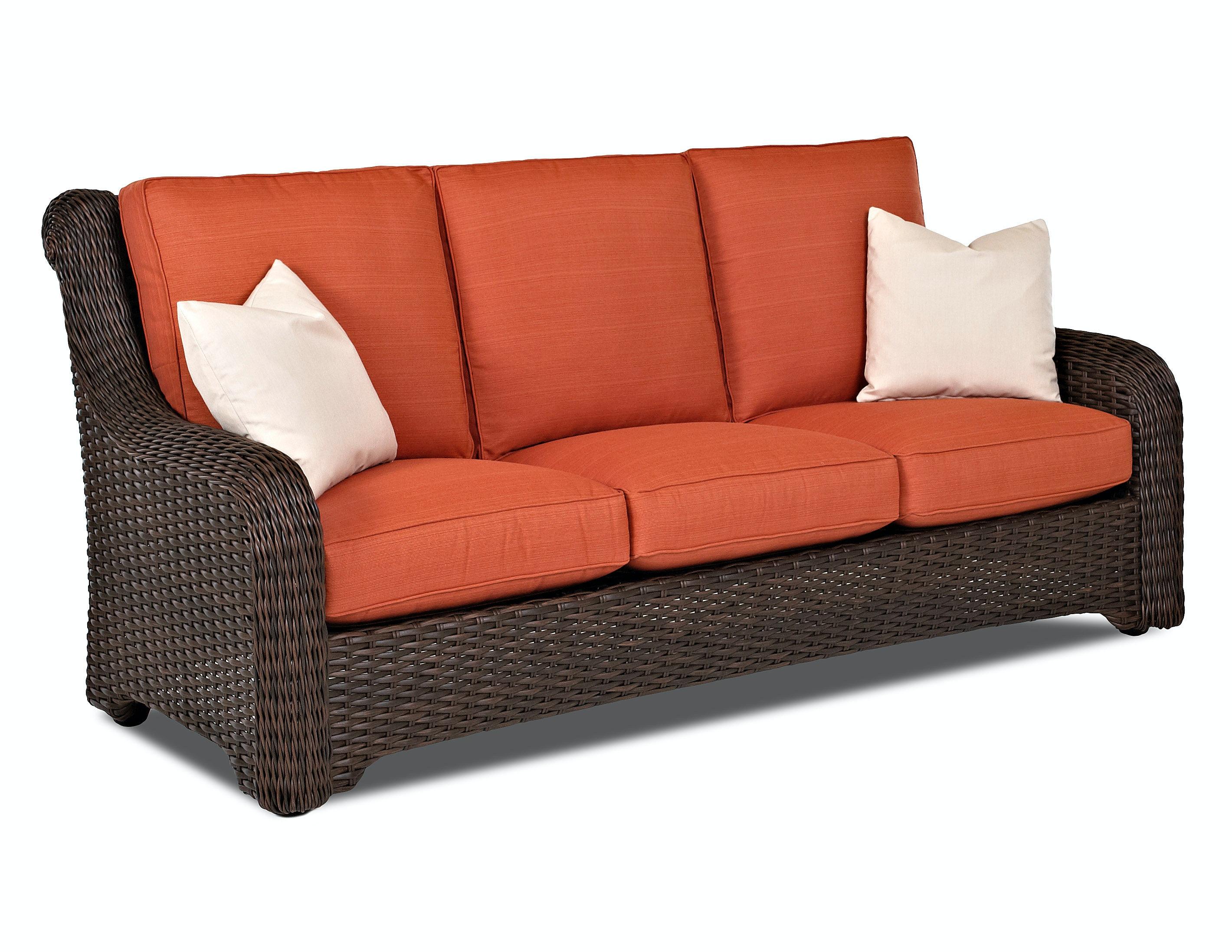 Klaussner Outdoor Outdoor Patio Laurel Sofa W1000 S Toms