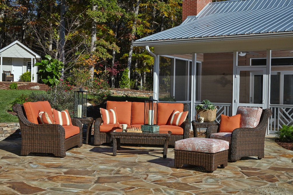 Klaussner Outdoor Outdoor Patio Laurel Sofa W1000 S Zing