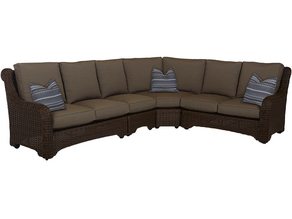 Klaussner Outdoor Outdoor Patio Laurel Sectional W1000 Fab Sect Davis Furniture Poughkeepsie Ny