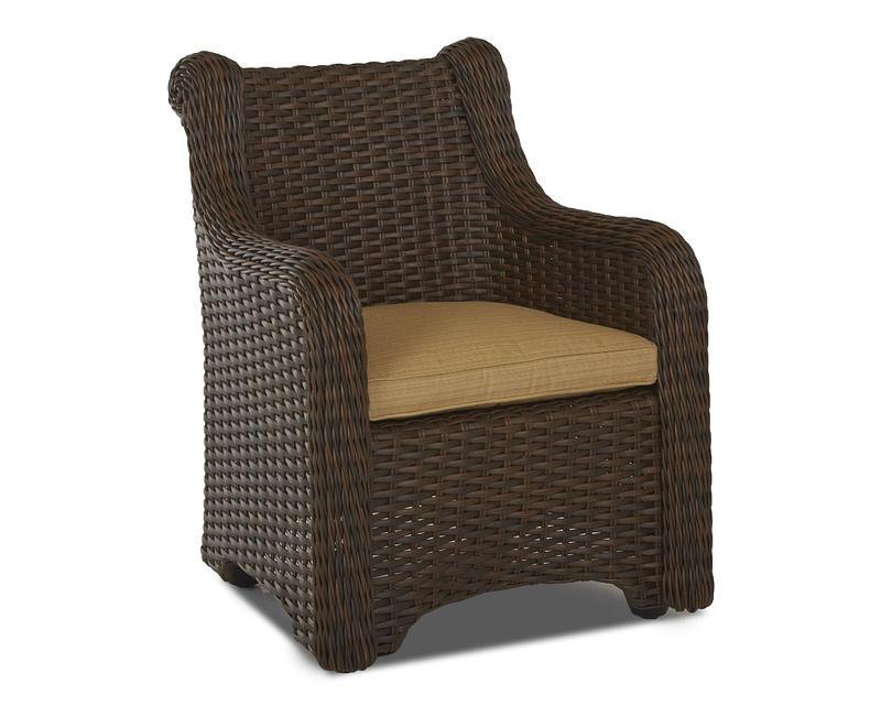 Klaussner Outdoor Laurel Dining Chair W1000 DRC