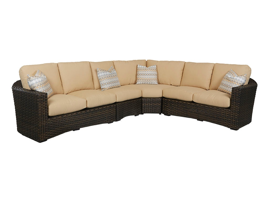 Klaussner Outdoor Cassley Sectional W1100 FAB SECT