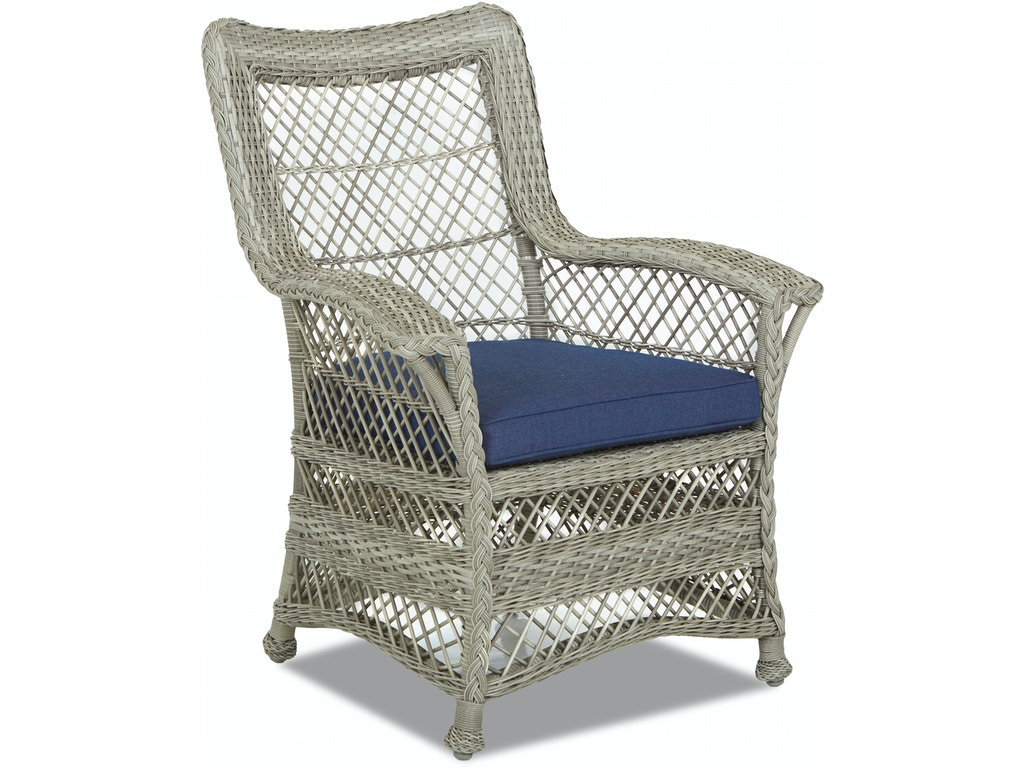 Klaussner Outdoor Outdoor Patio Willow Dining Chair W1200