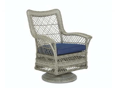 Simple Elegance Outdoor Willow Swivel Rocking Dining Chair W1200 SRDC