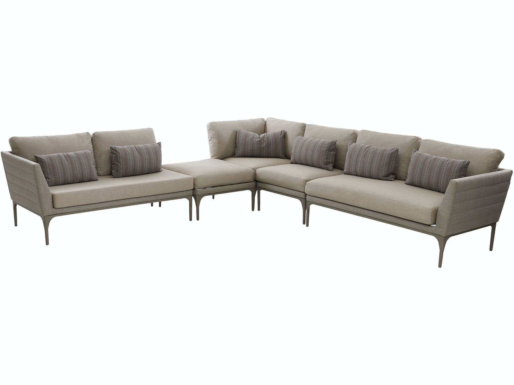 Klaussner Outdoor Urban Retreat Sectional W3500 SECT