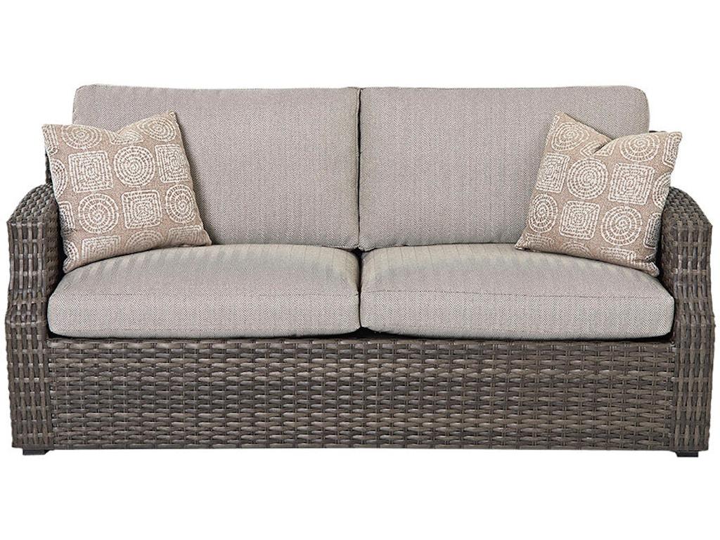 Klaussner Outdoor Outdoor Patio Cascade Sofa W5000 S