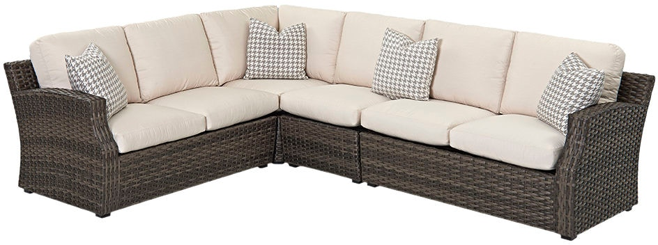 Klaussner Outdoor Outdoor Patio Cascade Sectional W5000