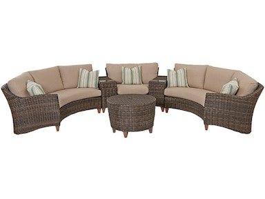 Klaussner outdoor sectionals high point furniture for Outdoor furniture birmingham al