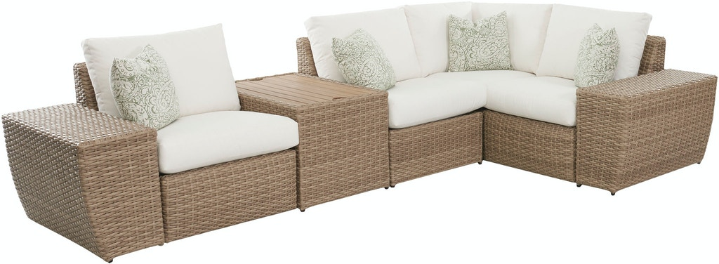 Klaussner Outdoor Outdoor Patio Mod Seacoast W7001 Sect