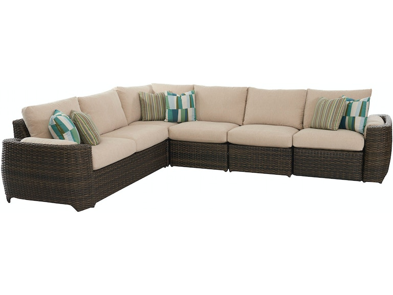 Klaussner Outdoor Outdoor Patio Mod Canyon W7002 Sect