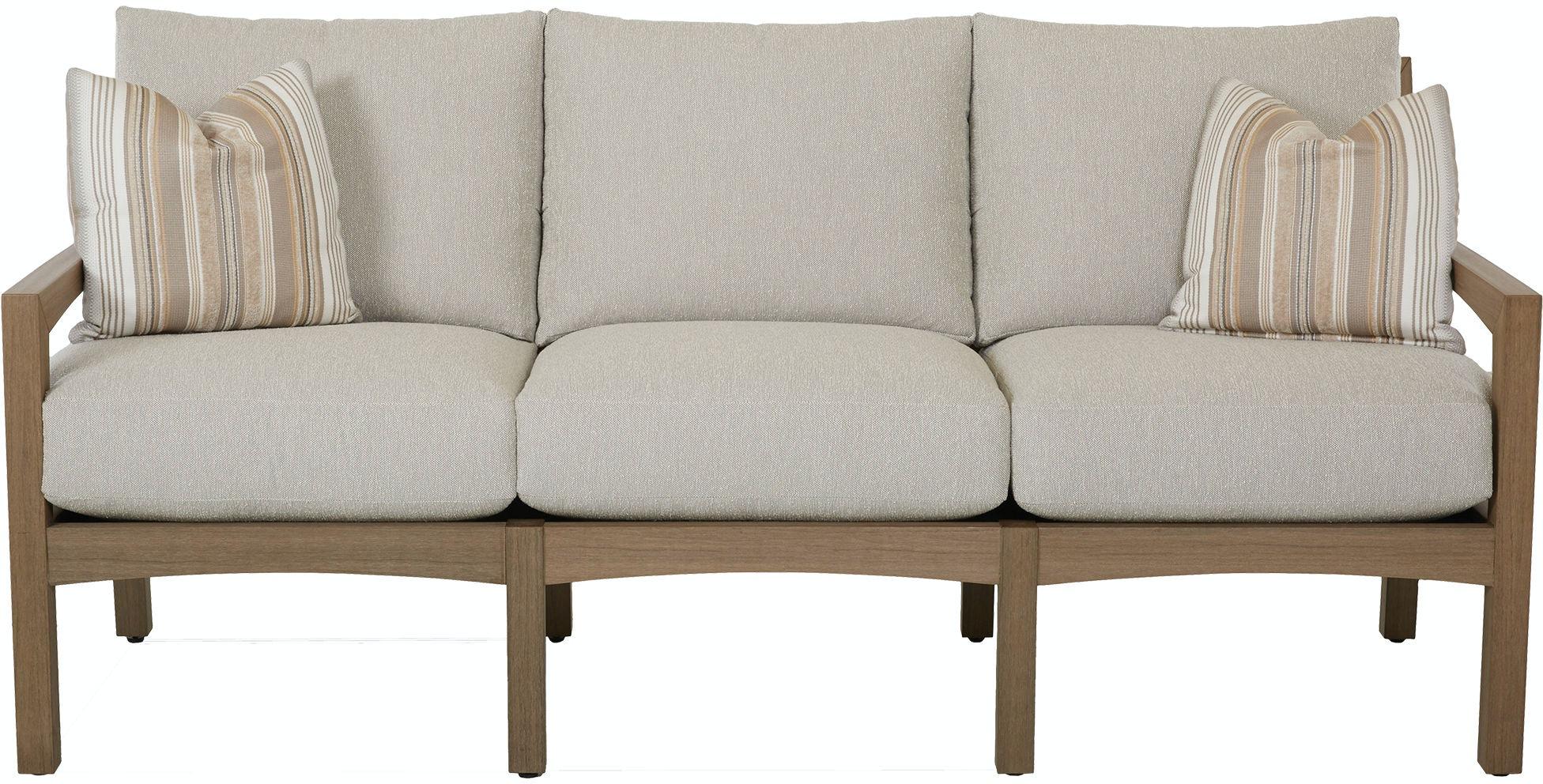 Klaussner Outdoor Outdoor Patio Delray Sofa W8502 S Zing